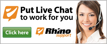 Put Live Chat to work for you with Rhino Support